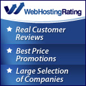Reviews of the best cheap web hosting providers at WebHostingRating.com